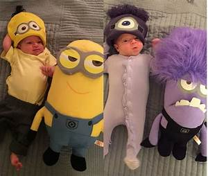Minion Kostüm Baby : 35 adorable infant halloween costume inspirations godfather style ~ Frokenaadalensverden.com Haus und Dekorationen