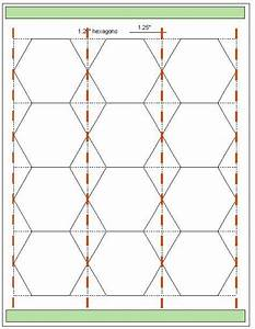 download hexagon templates in various sizes hexagons With hexagon templates for english paper piecing