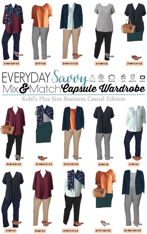 kohls  size business casual outfit ideas  spring