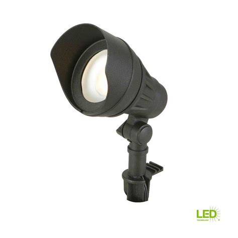 Home Depot Landscape Lighting by Hton Bay Low Voltage 75 Watt Equivalent Black Outdoor