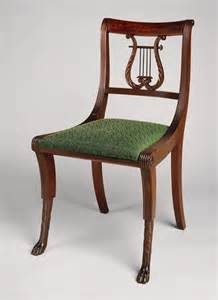duncan phyfe lyre back dining chair chair pads cushions
