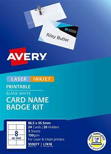 Avery Label Templates Word Card Name Badges 959077 Avery Australia