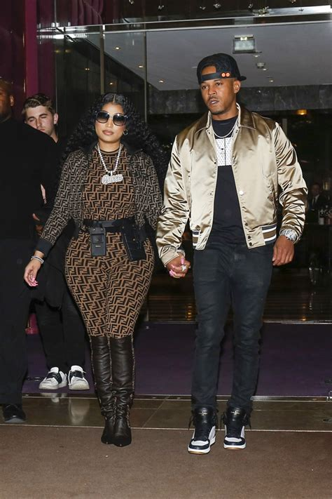 nicki minaj  kenneth petty  spotted holding hands
