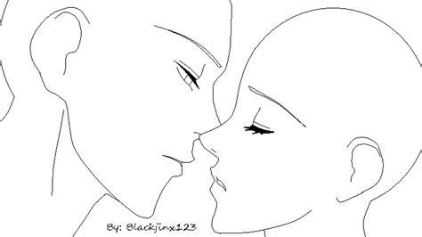 Almost Kiss Base By Blackjinx123 On Deviantart