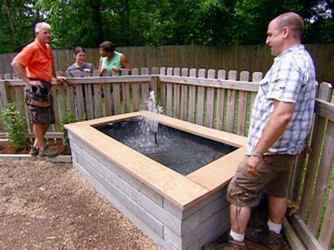 easy  standing pond video diy