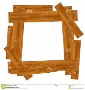Wooden Plank Frame Border stock illustration Image of