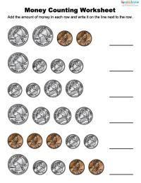 money worksheets  children lovetoknow