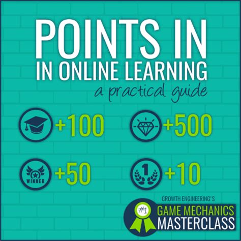 These awards come from achieving goals, completing social encounters. Experience Points and Gamified Learning: A practical guide