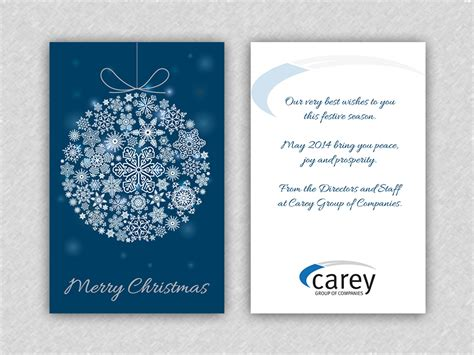 christmas sms for professional professional upmarket printing greeting card design for peak performance psychology by alaya