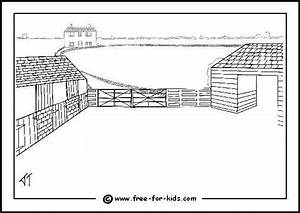 printable farm coloring pages - farm colouring pages with farm animal pictures