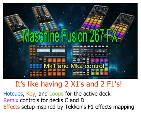 traktor remix decks maschine traktor bible maschine fusion 267 fx remix effects