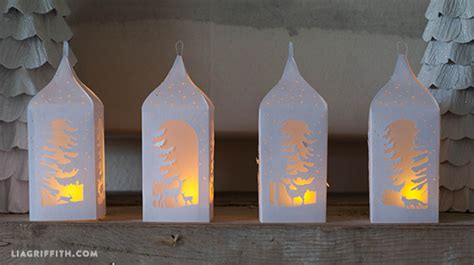 winter paper lanterns lia griffith