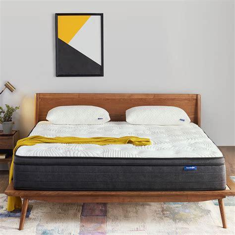 sweetnight mattress   plush pillow top hybrid