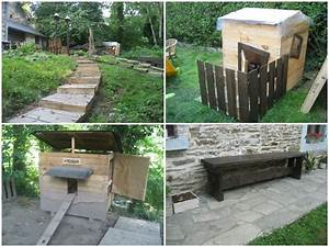 Recyclage Palette : recyclage de palettes recycled pallets 1001 pallets ~ Melissatoandfro.com Idées de Décoration