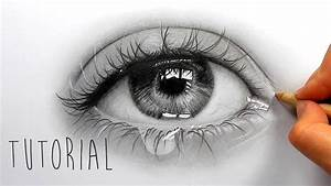 Realistic Eye Drawing Tutorial Tutorial   How To Draw ...