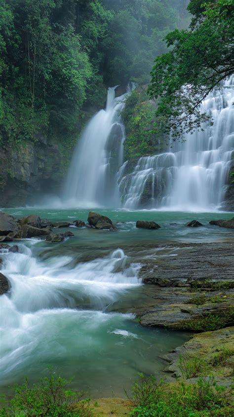 nauyaca waterfalls cataratas nauyaca dominical puntarenas costa rica windows  spotlight