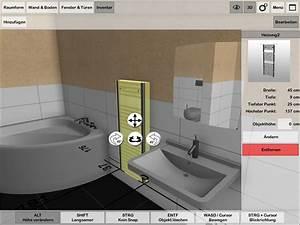 Bad Planen Software Kostenlos : 3d badplaner ambivision app ~ Markanthonyermac.com Haus und Dekorationen