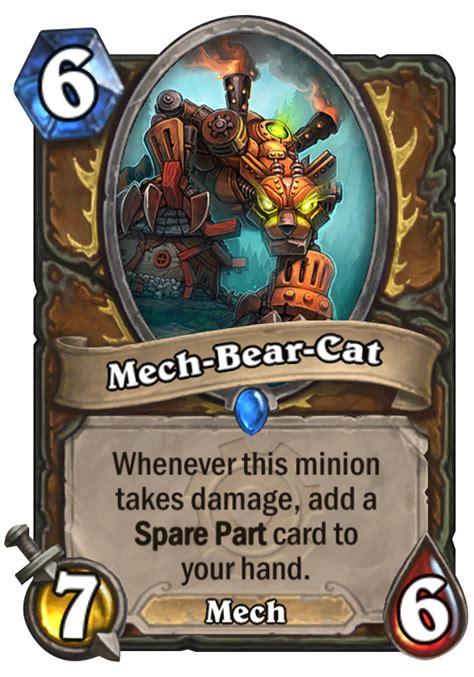 Hearthstone Decks Druid Mech by Mech Cat Hearthstone Card