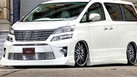 Toyota Vellfire Modification by Custom Modified Toyota Alphard Vellfire