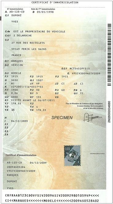 Prix Carte Grise Etienne by Carte Grise Et Immatriculation Infos Et Changement En Ligne