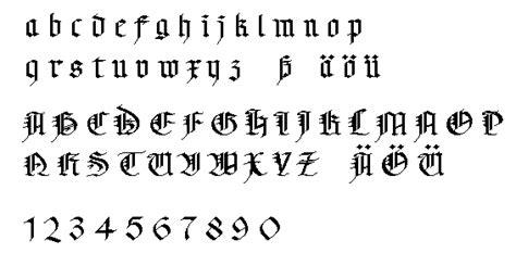 black letters fraktur schwabacher und gotik