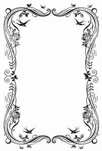 19 Decorative Border Designs Images - Free Clip Art ...