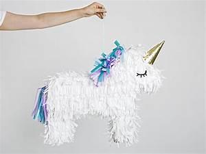 Pinata Basteln Pferd : diy anleitung einhorn pi ata basteln via geschenke selbstgemacht basteln ~ Frokenaadalensverden.com Haus und Dekorationen