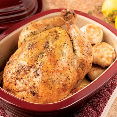 ultimate roasted garlic chicken recipes pampered chef  site