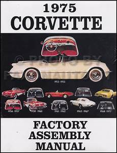 1974 Corvetteplete Set Of Factory Electrical Wiring Diagrams Schematics Guide Chevy Chevrolet 74