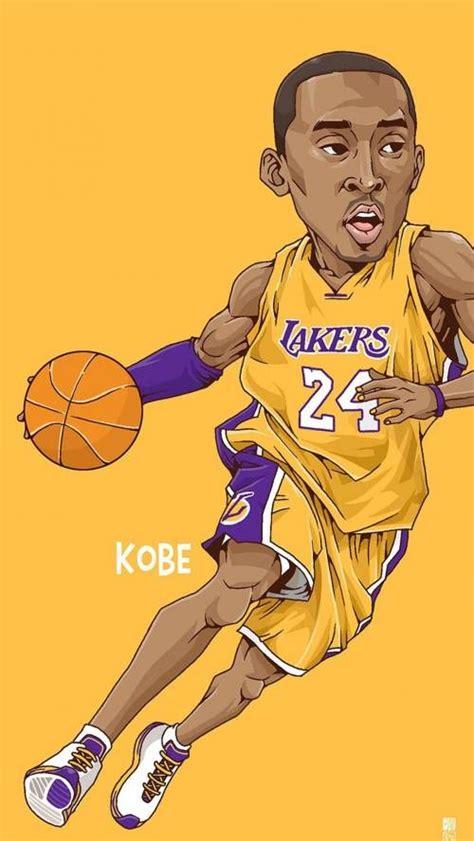 kobe bryant art nba basketball basketball sports