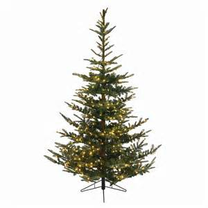 shop northlight everlands 7 5 ft 1 388 tip pre lit noble fir artificial tree with 624