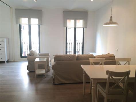 bedroom furnished apartment  rent  eixample barcelona
