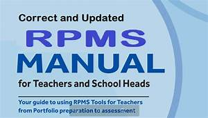 Correct And Updated Version Of The Rpms Manual For