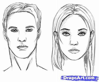 Draw Drawing Step Realistic Faces Learn Drawings