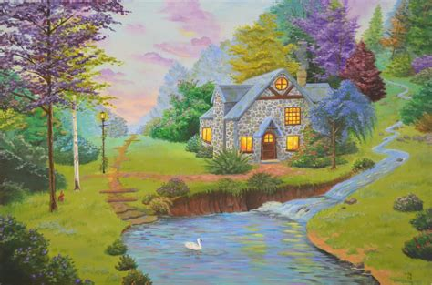 Pretty Landscape by EepaSketch on DeviantArt