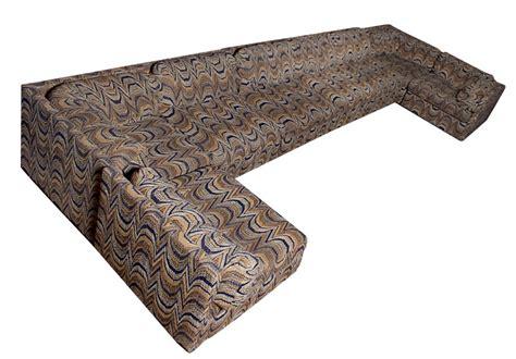 original mid century pit group sofa sectional modernism