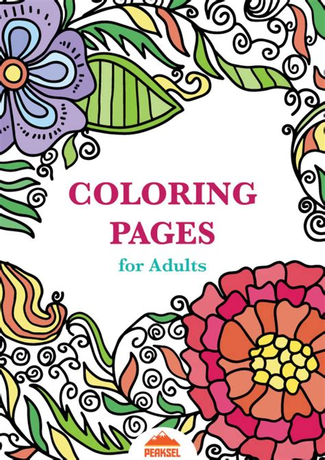 coloring pages  adults  adult coloring book