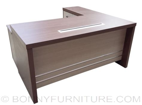 table l yf 033 executive table with l type table bonny furniture