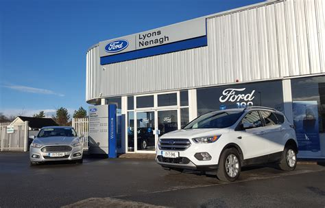 Contact your local Ford dealer Lyons of Nenagh, Co Tipperary.