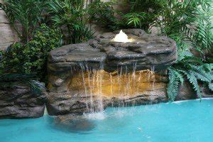 american falls    swimming pool waterfall kit