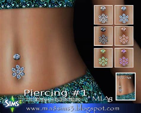 mia earrings neckalce rings piercing sims  downloads