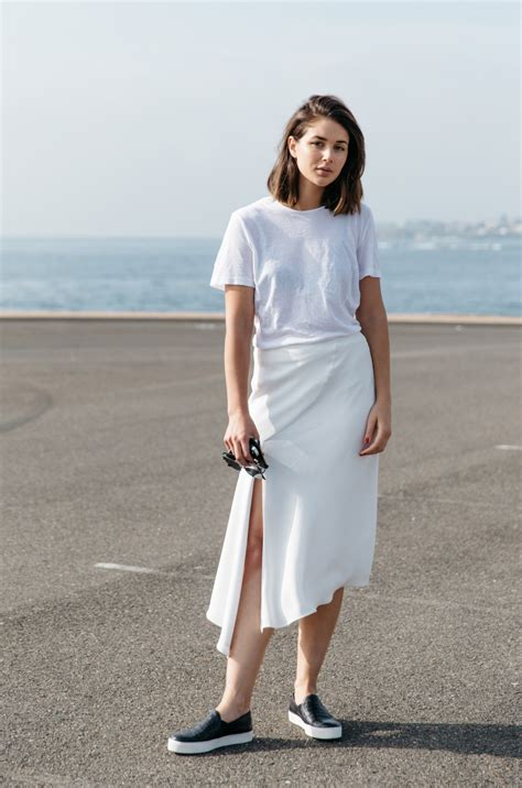 How To Wear All White, Without Looking High Maintenance