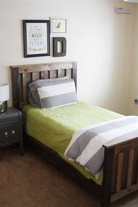 build a bed white kentwood bed diy projects