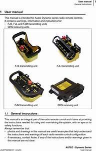 Autec S R L Crsna022 Remote Control