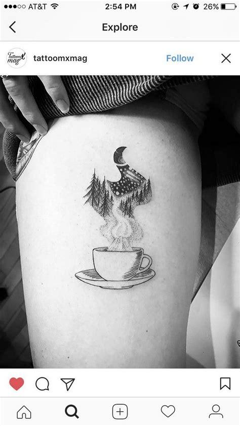 60+ Inspiring Coffee Tattoo Ideas, You Must Know | Tattoos