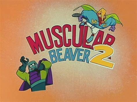 muscular beaver   angry beavers wiki fandom
