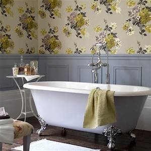 exclusive designs blog With wallpaper patterns for bathroom