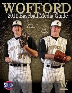 2011 Wofford Baseball Media Guide by Wofford Athletics - Issuu