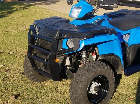 atv guru front bumper sportsman  ho polaris atv forum