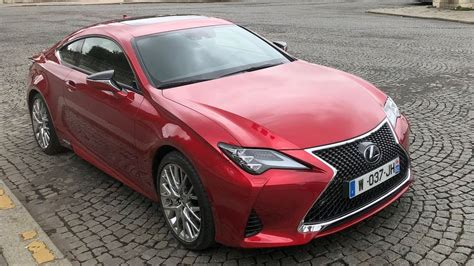 2019 Lexus Rc 300h Coupe Exclusive Preview